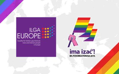 ILGA-Europe: Podrška za Bh. povorku ponosa i za LGBTI zajednicu u BiH