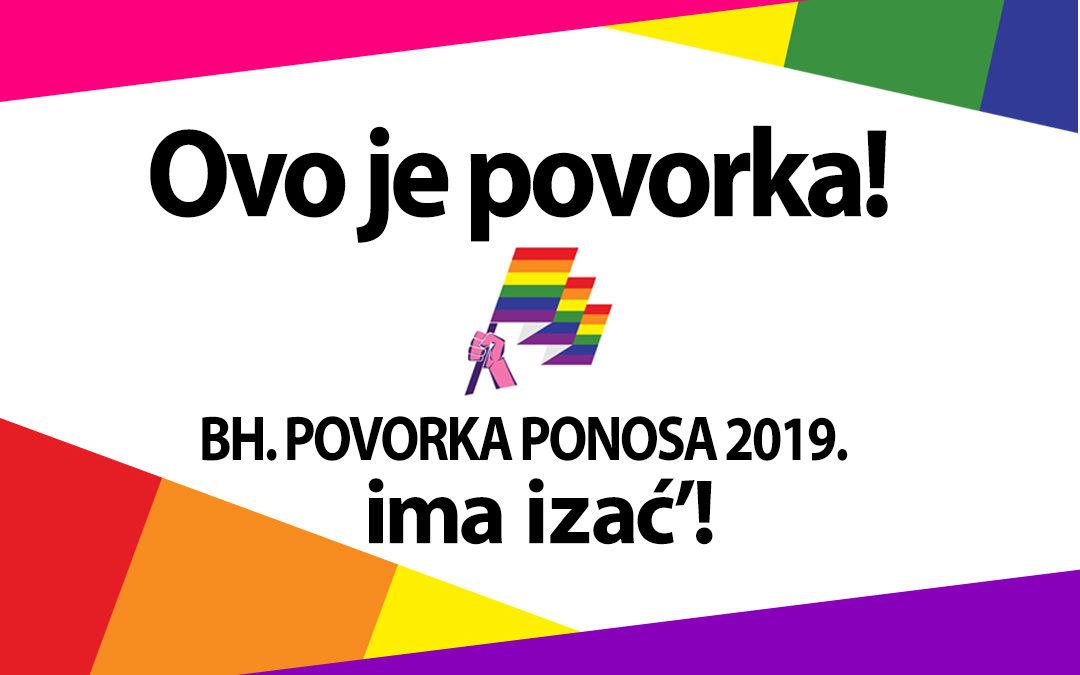 Ovo je povorka ponosa! – Kampanja Bh. povorke ponosa