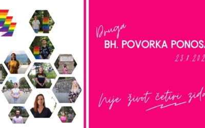 """Najavljujemo drugu Bh. povorku ponosa: Prođosmo Bosnom i Hercegovinom kroz gradove jer """"Nije život četiri zida"""""""
