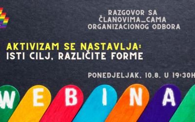 Povorka ponosa je inkluzivan prostor svih građana_ki BiH